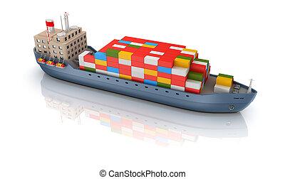 貨物船, 隔離された