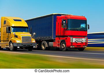 貨物輸送機関