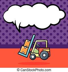 貨物 トラック, いたずら書き