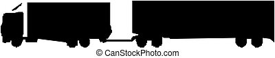 貨物 トラック, シルエット
