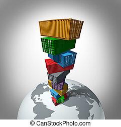 貨物, 世界的である, 交通機関