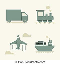 貨物, 交通機関