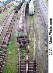 貨物 列車, ∥で∥, 色, 貨物 容器