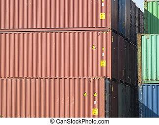 貨物, 容器