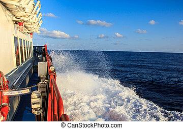 貨物, 産業, オイル, ガス, 沖合いに