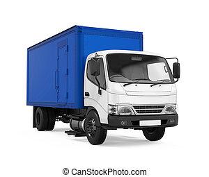 貨物, 送貨卡車, 被隔离