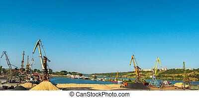 貨物, rostov-don, 港, ロシア