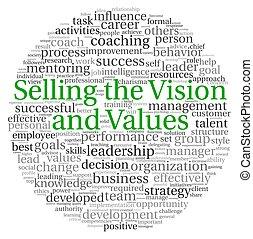 販売, 単語, タグ, 概念, 雲, ビジョン