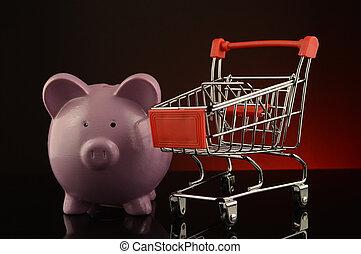 販売, 買い物, 概念
