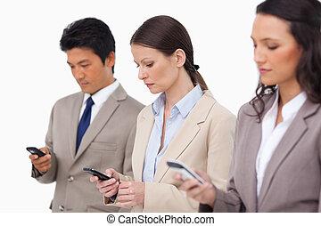 販売, cellphones, チーム, ∥(彼・それ)ら∥, 見る