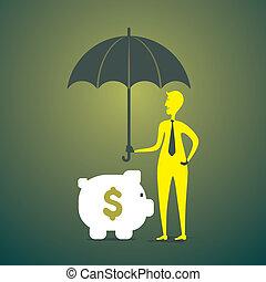 貯蓄の金, 概念