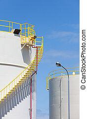 貯蔵タンク, 産業