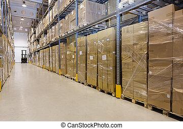 貯蔵, 中に, 倉庫