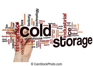 貯蔵, 寒い, 単語, 雲