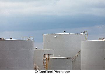 貯蔵, 石油, プロダクト, タンク, 群がりなさい