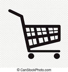買い物カート, アイコン