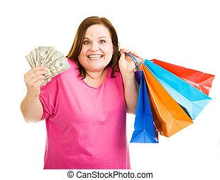 買い物三昧