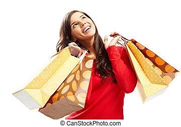 買い物客, 幸せ