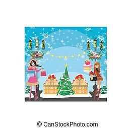 買い物, クリスマス
