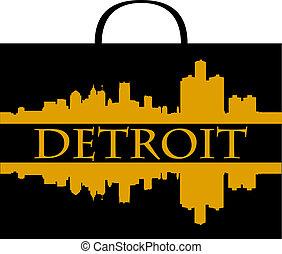 買い物, デトロイト