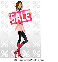 買い物, ファッション, 女の子