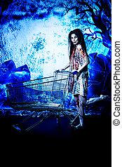 買い物, 魔女