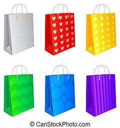 買い物, bags.