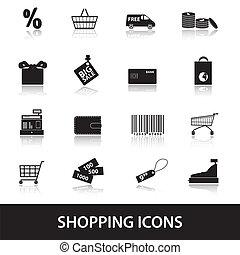買い物, eps10, アイコン