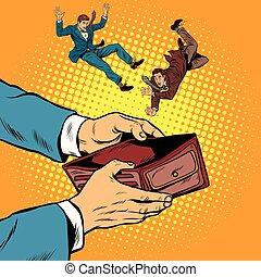 賄賂, 人々, 依存した, お金, 汚職