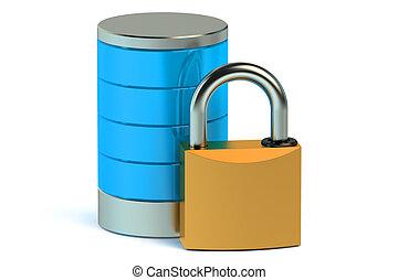 資料庫, 以及, 計算机數据, 安全, 概念