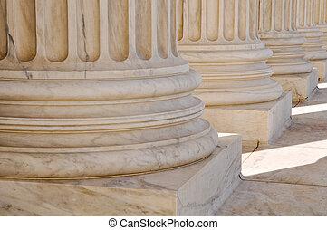 資訊, 最高, 團結, 庭院, 華盛頓特區, 柱子, 國家, 法律