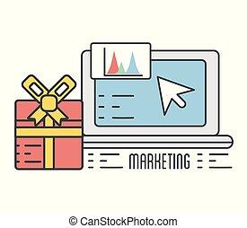 資訊, 禮物, 商業電腦, 統計, 禮物