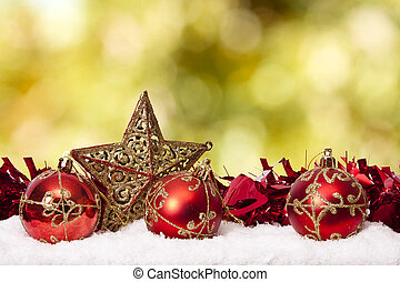 資金, ∥で∥, 伝統的である, クリスマスの 装飾, そして, クリスマス, ホリデー