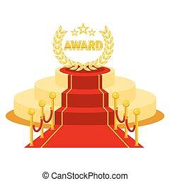 賞, 赤いカーペット