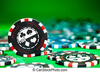賭けることは 欠ける