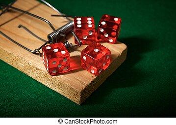 賭ける 常習, 概念