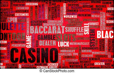 賭博, 娛樂場