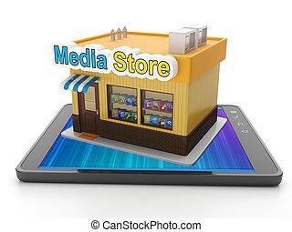 購入, タブレット, モビール, app, pc, ダウンロード, あなたの