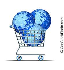 購入, 世界的である