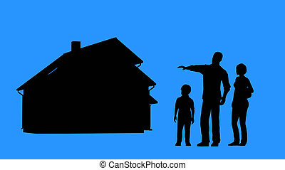 購入, 抵当, 家族, 家, 承認, home., 購入