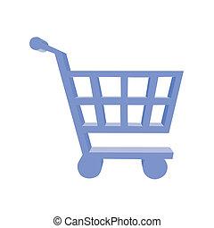購物車, 按鈕