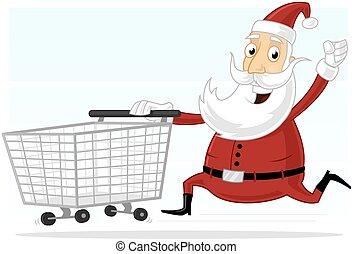 購物, 聖誕老人