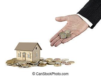 購買, ......的, 房子