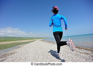 賽跑的人, 運動員, 跑