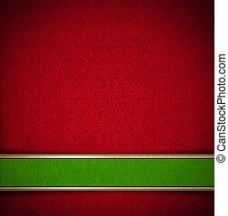 贅沢, 花, 赤 と 緑, ビロード, 背景