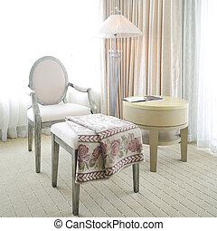 贅沢, 部屋, 型, 内部, ホテル