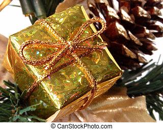 贈り物の箱, クリスマス