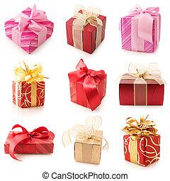贈り物, セット, 様々