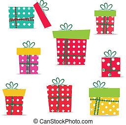 贈り物, デザインを設定しなさい, クリスマス