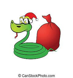 贈り物, ヘビ, 帽子